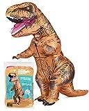 Aufblasbares XXL Kostüm Dinosaurier | Ausgefallenes Auflbaskostüm |...