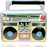 TK Gruppe Timo Klingler Aufblasbarer Retro Ghettoblaster Hip Hop Radio...