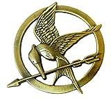 LACKINGONE Brosche, Motiv: Die Tribute von Panem Katniss Everdeen,...