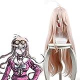 Yamia Anime Cosplay Perücke für Miu Iruma, lange rosa Frauen...