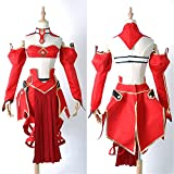Fate/Apocrypha Saber of Red Mordred Cosplay Costume(OS)