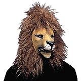 NET TOYS Löwen Maske Tiermaske Löwe Löwenmaske Faschingsmasken...