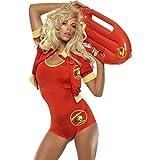 R.H.Smith & Sons Karneval Badeanzug Baywatch Kostüm Rettungsschwimmer...