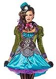 Leg Avenue 8550501101 Damen - Deluxe Mad Hatter Kostüm, Größe S...