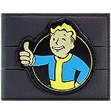 Fallout 4 Vault Boy 111 Daumen hoch Charisma Perk Schwarz Portemonnaie