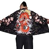 G-like Herren Sommer Kimono Cardigan – Traditionelle Japanische...