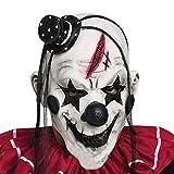 Di&Mi Killer Clown Cosplay Kostüm Maske für Karneval Fasching...