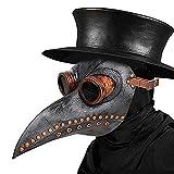 Schnabelmaske, Halloween Maske Mittelalter Pest Maske Doktor Arzt...