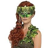 NET TOYS Elegante Waldfee-Maske für Erwachsene - Grün - Aufregendes...