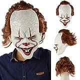 Horror Clown Maske Halloween Joker Maske Clown Maske Halloween Cosplay...