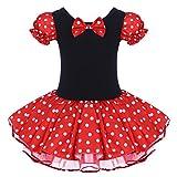 FYMNSI Kinder Baby Mädchen Minnie Maus Kostüm Gepunktet Tütü Kleid...