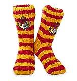 Harry Potter Winter Socken - 1 Paar Kuschelsocken Flauschige - Damen...