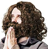 Perücke & Bart - Jesus | Prophet | Guru | Hipster | Waldschrat |...