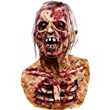 molezu Walking Dead Vollkopfmaske, Resident Evil Monster Maske, Zombie...
