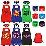 Jojoin Superhelden Kinderkostüm Kinder, 6 Stücke Superhelden Kostüm...