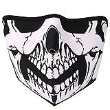 JewelryWe Neopren Biker Motorrad Snowboard Maske Sturmmaske Sturmhaube...