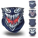 Venom Ghost Ninja Karneval Fasching Gesichtsmaske gesichtsschal...