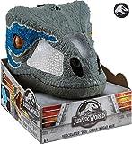 MATAS FMB74 Velociraptor Maske mit Geräuschen, 'Blau'