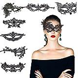 KAKOO 8 Modell Venezianische Maske Sexy Damen Spitze Augenmaske Gothic...