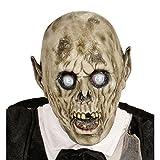NET TOYS Gruselige Zombi Maske Psycho Latexmaske Bräutigam...