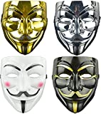 Vendetta Maske Halloween Cosplay Guy Fawkes V Masken Anonymous für...