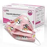 AUPROTEC 50 Stück medizinischer Mundschutz Kinder OP Masken CE...