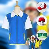 Cosplay Kleidung Pokémon Ash Ketchum Cosplay Anime Dress Up Christmas...