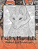 Fuchs Mandala - Malbuch für Erwachsene