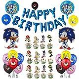 Sonic Ballon Foil Helium Ballons, Sonic The Hedgehog Party liefert...