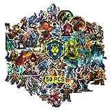 GTOTd Aufkleber für World of Warcraft(large size 50PCS)Merch...