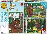 Schmidt Spiele 56210 Mein Freund der Grüffelo, 3 x 24 Teile...
