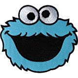 Sesam Street Cookie Monster Patch Embroidered Iron on/Sew auf Kleidung...