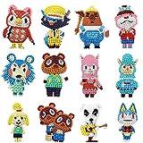Yeelua 12PCS 5D Animal Crossing Diamant Malerei Aufkleber Kits, DIY...