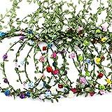 9 Stück Blumenkranz Blume Krone Stirnband,Haar Garland Leaf...