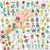 HOWAF Roboter Temporäre Tattoos für Kinder Jungen, Kindertattoos...