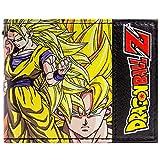 Toei Dragonball Z Goku & Vegeta Gelb Portemonnaie Geldbörse