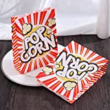 TOYMYTOY Popcorn Tüte Popcorn-Boxen Pappe Party Candy Container...
