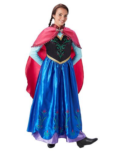 Anna Eiskönigin Kostüm Damen