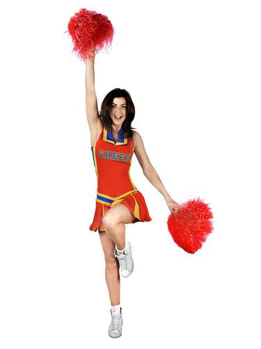 Cheerleaderin Kostüm Damen