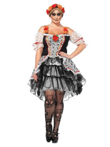 La Catrina Kostüm Damen