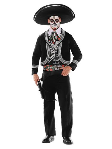 Tag der Toten Kostüm Herren