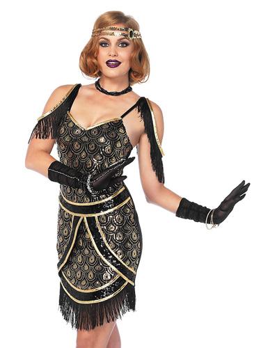 20er Jahre Kleid im Charleston Style