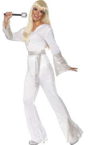 ABBA Kostüm Damen Agnetha Anni-Frid