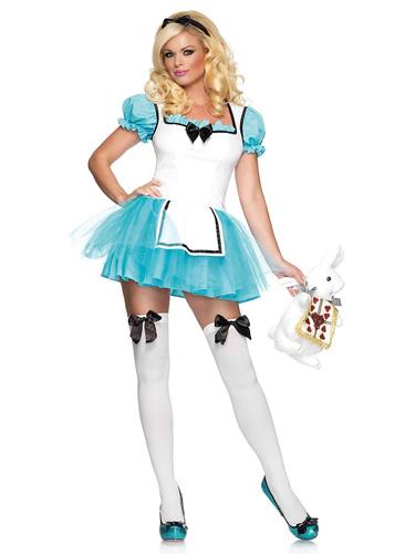 Alice im Wunderland Kostüm Damen