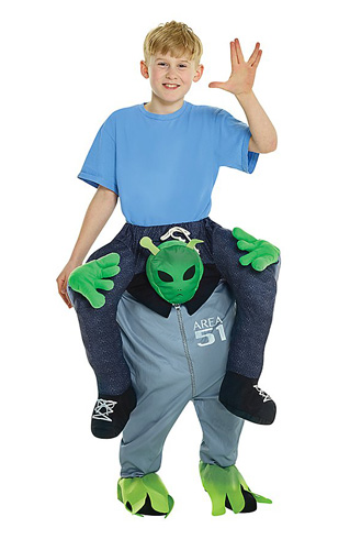Alien Kostüm Kinder