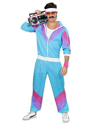 Bad Taste Outfit Herren - 80er Jahre Assi New Kids Kostüm