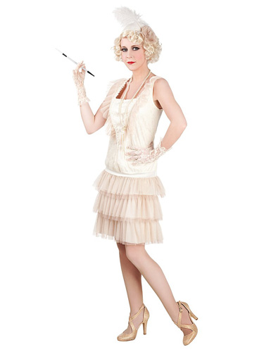Charleston Kleid - 20er jahre Kleid Damen