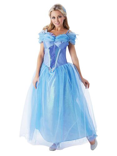 Cinderella Kostüm Kleid Damen