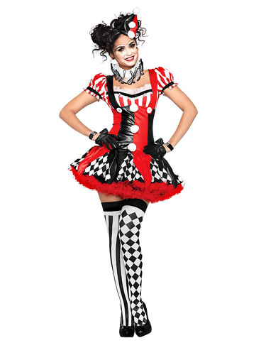 Harlekin Kostüm Damen