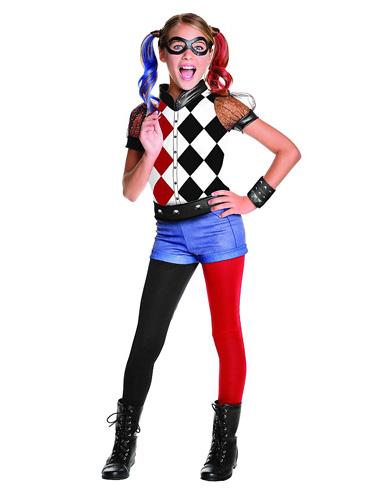 Harley Quinn Kostüm Für Kinder Damen Kostuemkolossde